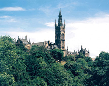 University of Glasgow, Scotland, home of the Gifford Lectures