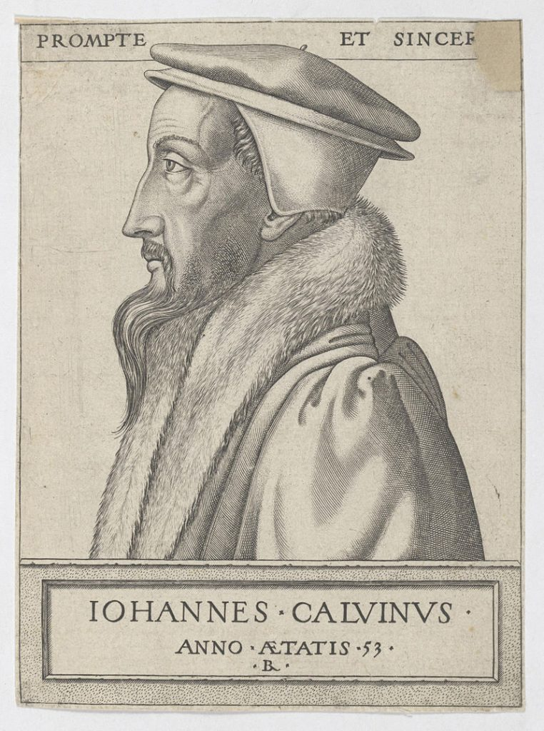 John Calvin at fifty-three years old