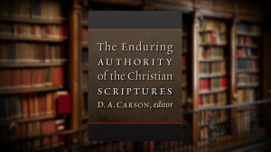 "<h1>New Henry Center Book Project Released</h1>D. A. Carson's Faculty Initiative, ""The Scripture Project,"" published. Learn more."