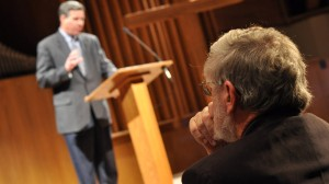 George Marsden inaugurates the Jonathan Edwards and the Church lecture series.