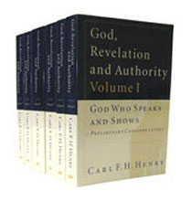 Henry's <i>magnum opus</i>,<i>God, Revelation, and, Authority</i>, was publisehd between 1976-83.