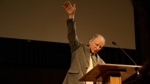 "John Piper peaches on""The Triumph of the Gospel in the New Heavens and the New Earth."" Picture by James Gordon"