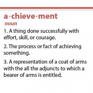achievement-definition