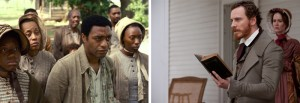 Plantation owner William Ford preaching to his slaves (from 12 Years a Slave)