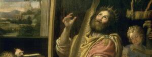 King David Playing the Harp, Domenico Zampieri (1581–1641), Versailles