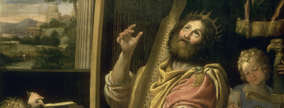 King David Playing the Harp, Domenico Zampieri (1581–1641), Versailles