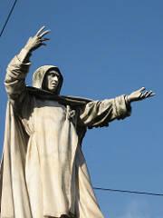 Monument of Savonarola, Ferrara, Italy