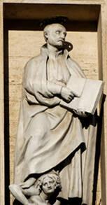 <i>St. Ignatius Defeating Heresy;</i> Gesù, Rome