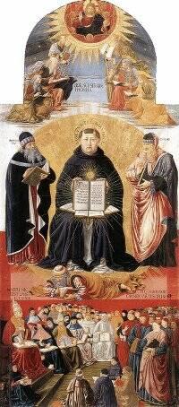 Triumph of St Thomas Aquinas | Gozzoli 1471