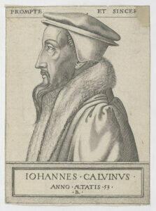John Calvin at fifty-three years old