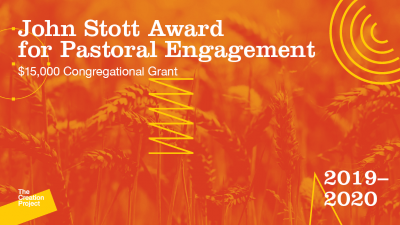 <h1>Pastors: Apply for Our John Stott Award</h1>Applications Due May 1