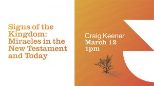 <h1>Upcoming Event</h1>Join us for our Scripture & Ministry lecture on March 12
