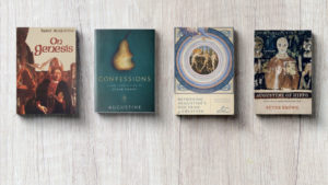 <h1>Book Giveaway!</h1> Enter to win a collection of books on Augustine's Doctirne of Creation